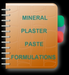 Mineral Plaster Paste Formulation And Production