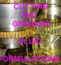 CUTTING AND GRINDING FLUID FORMULATION AND PRODUCTION PROCESS