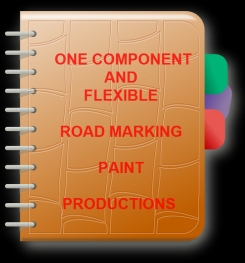 One Component And Flexible Road Marking Paint Formulation And Production