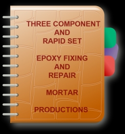 Three Component And Rapid Set Epoxy Fixing And Repair Mortar Formulation And Production