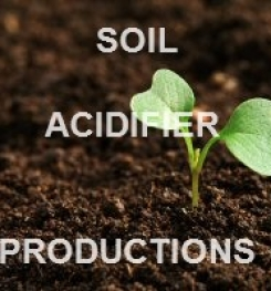 SOIL ACIDIFIER FORMULATIONS AND MANUFACTURING PROCESSES