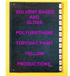 Solvent Based And Gloss Polyurethane Topcoat Paint Yellow Formulation And Production