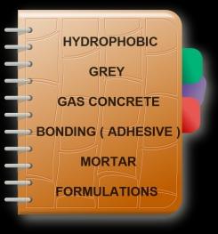 Hydrophobic Grey Gas Concrete Bonding ( Adhesive ) Mortar Formulation And Production