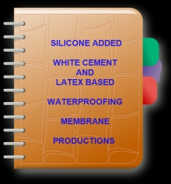 Two Component And Silicone Added White Cement And Latex Based Waterproofing Membrane Formulation And Production