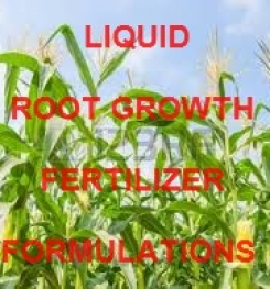 LIQUID ROOT GROWTH FERTILIZER FORMULATIONS AND PROCESS