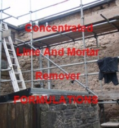 Concentrated Lime And Mortar Remover Formulation And Production Process